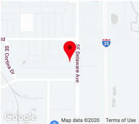 Map location of Ankeny UCS Healthcare