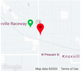 Map view of Knoxville UCS Location